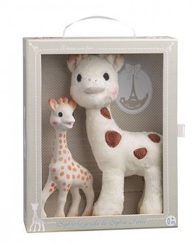 Sophie the Giraffe & Sophie Cherie Set